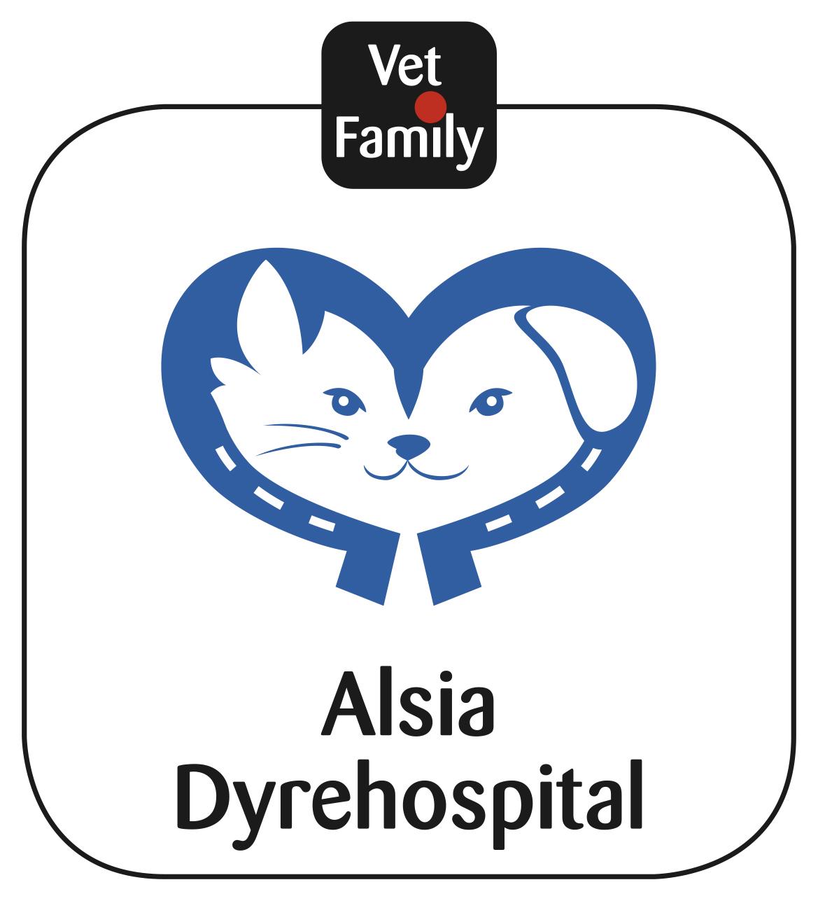 Alsia dyrehospital logo